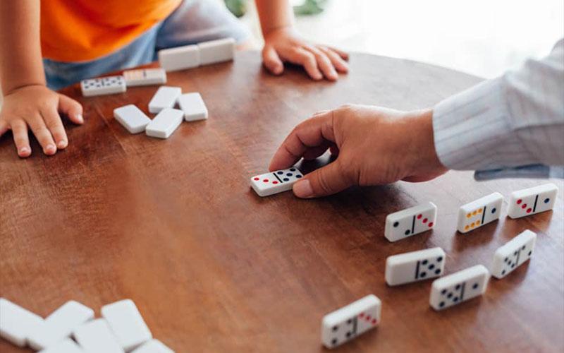 Bermain Domino Melawan Komputer di Aplikasi IDNPlay Domino